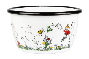 Miska emaliowana Happy Family 300 ml MUURLA Moomin Colors