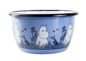 Miska emaliowana Muminek 300 ml MUURLA Moomin Friends